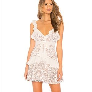 For love and lemons lace mini